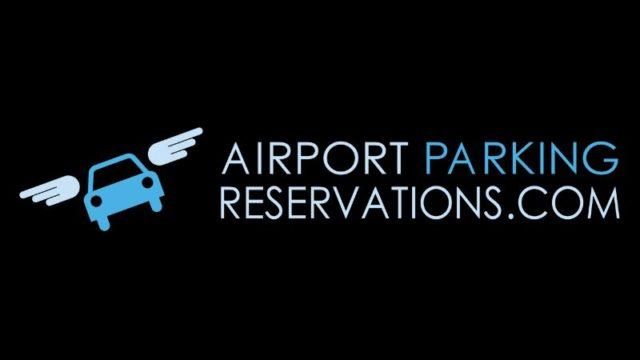 デトロイト空港の駐車場