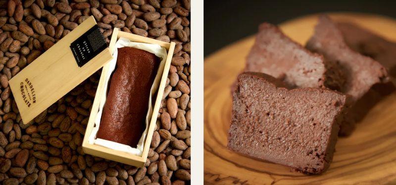 ダンデライオンチョコレートのガトーショコラ